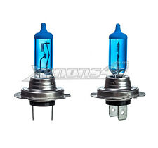2x H7 100W 5000K XENON HID WHITE EFFECT LOOK HEADLIGHT LAMPS LIGHT BULBS 12V