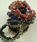 5pcs Women elastic hair ties Scrunchie Ponytail Holder Hair Accessories gzx1G