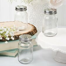 40 Plain / DIY Glass Mason Treat Jars Baby Shower Party Gift Favors