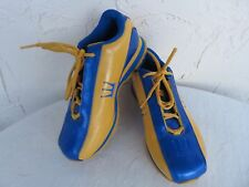 Dada Supreme Kierra Blue/Yellow Athletic Shoes Sneakers  USA 5.5