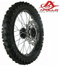 Roue avant Dirt 14'' APOLLO jante pneu AV disque Pit moto bike cross NEUF YCF