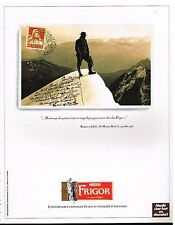 Publicité Advertising 1992 Le Chocolat Frigor de Nestlé