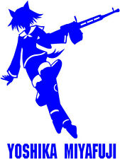 Strike Witches Yoshika Miyafuji character decal