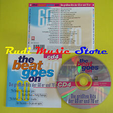 CD THE BEAT GOES ON VOL 4 compilation 97 CATS FATS DOMINO ELO ANKA (C2)no lp mc