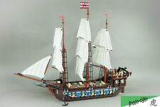 C104 Custom brick set for Lego 10210 Pirates Imperial Flagship Free shipping