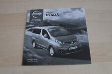 126046) Nissan Evalia - Preise & t. Daten & Ausstattungen - Prospekt 10/2013