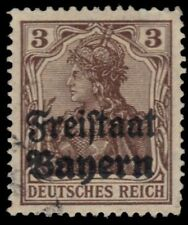 BAVARIA 177 (Mi137) - Germania Definitive Overprinted (pf12957)