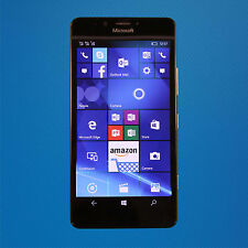 Good - Microsoft Lumia 950 - Black (AT&T) Smartphone - SEE INFO - Free Shipping
