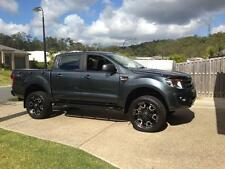 Dominator 4x4 Rock Sliders Mazda BT50/Ford Ranger PX MK2 Wildtrak Powder Coated