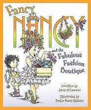 Fancy Nancy and the Fabulous Fashion Boutique-ExLibrary