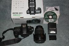 Canon EOS 60D 18.0 MP Digital SLR Camera - Black (Kit w/ EF-S IS 18-200mm Lens)