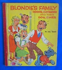 1954 BLONDIE'S FAMILY Treasure Books Parade HC GVG by Chic Young Cookie