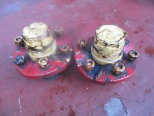 Massey Harris 81 gas farm tractor narrow front end hubs