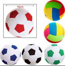 Giant 50cm Up To 55cm Inflatable Fabric Covered Mega Ball Beach Garden Football