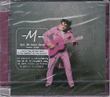 CD MULTIMEDIA 15T M (MATHIEU CHEDID) QUI DE NOUS DEUX DE 2003 NEUF SCELLE