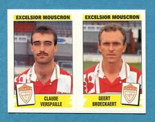 FOOTBALL 96 BELGIO Panini -Figurina-Sticker n. 403 - EXCELSIOR MOUSCRON -New