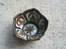 "1980s Ken Edwards Tonala El Palomar Lotus Pattern 5"" Dessert Bowl #6 - Mexico"