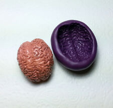 Large 2D Anatomy Brain Silicone Mold (41mm) Body Organ