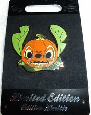 PINS DISNEY HALLOWEEN STITCH CITROUILLE EN EDITION LIMITEE PUMPKIN STITCH  NEUF