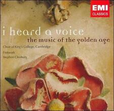 I Heard a Voice: Music of the Golden Age 2007 by King's College Choir Ex-library