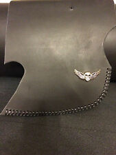 Harley Softail Tour Sportster Dyna Saddle Shield Heat Deflector Laced W/ Concho