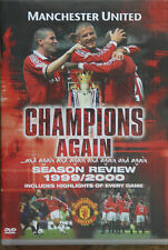 Manchester United Season Review 1999/2000 Champions Again DVD Man Utd FC 99/00