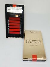 L'OREAL 'Colour Riche Lip Palette' 6 Cream Lipsticks RED New Sealed
