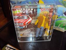 MEGO STARSKY AND HUTCH FIGURES ACRYLIC CASES 9 1/2HX 8 5/8WX 1 7/8DEEP INS DEM