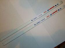 """2 x Lenox 232HE 32TPI Hacksaw Blades 12"""" - 300mm Bi Metal T2 0.08mm"""