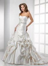 Sottero Midgley Haute Couture Bridal Gown Wedding Dress Sz 12 NWT Kennedy