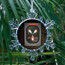Back To The Future Flux Capacitor Blinking Light Holiday Christmas Tree Ornament