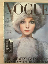 """VOGUE British Edition October 15,1968 """"How you can have a more perfect Bosom"""""""