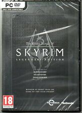 "The Elder Scrolls V Skyrim Legendary Edition Nuevo y sellado"" (Pc-Dvd)"