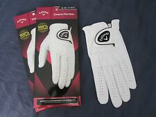 2 CALLAWAY DAWN PATROL LEATHER GOLF GLOVES SIZE EXTRA LARGE NEW MENS
