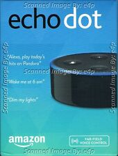AMAZON ECHO DOT 2 VOICE CONTROLLED HANDS-FREE WI-FI BLUETOOTH NEW FACTORY SEALED