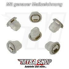 10x Klemme Halterung Form Clip Befestigung für BMW 3er 5er 7er 51458161557 NEU