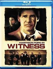 Witness (Blu-ray, 1985) HARRISON FORD/ KELLY McGILLIS/ PETER WEIR  New/Sealed