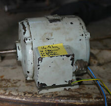 Mcoll 3 phase induction motor probably 1HP