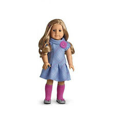 "American Girl MY AG SWEET SCHOOL DRESS Outfit for 18"" Dolls + Charm Retired NEW"