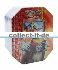 Pokémon heartgold SoulSilver 'Shiny' Tin-Box-Entei