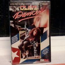 CLAVE: DANCER (Buzz Hulik) VHS . Kate Capshaw Jeroen Krabbe Gregory Sierra