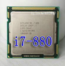 Free shipping Intel Core i7 Quad Core i7-880 3.06GHz / 8MB Socket LGA1156