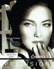PUBLICITE ADVERTISING  046  2006  Chanel   Cosmétiques Précision
