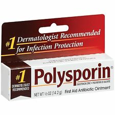 Polysporin First Aid Antibiotic Ointment 0.50oz Each