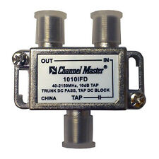 Channel Master 1010IFD Directional Tap 1 Way 10 dB Tap 40 - 2150 MHz T-Type 2 GH
