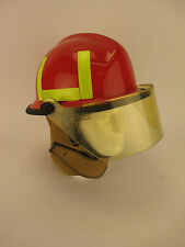 Vintage CAIRNS & Brother Firefighters Helmet with Face Shield N660-Mark II
