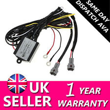 12V Car DRL Daytime Running Light Relay Harness Controller On/Off Switch New