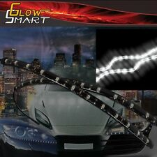 "18"" White LED Strip (2-piece) for Car Boat and Motorcycle & Parties"