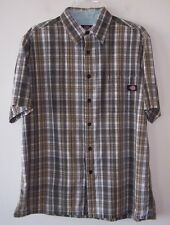Vintage Dickies Casual Button Front Skater Shirt Lg