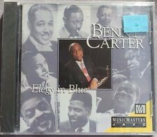 SEALED Elegy in Blue by Benny Carter (Sax) Carter (CD, Aug-1994, Musicmasters)
